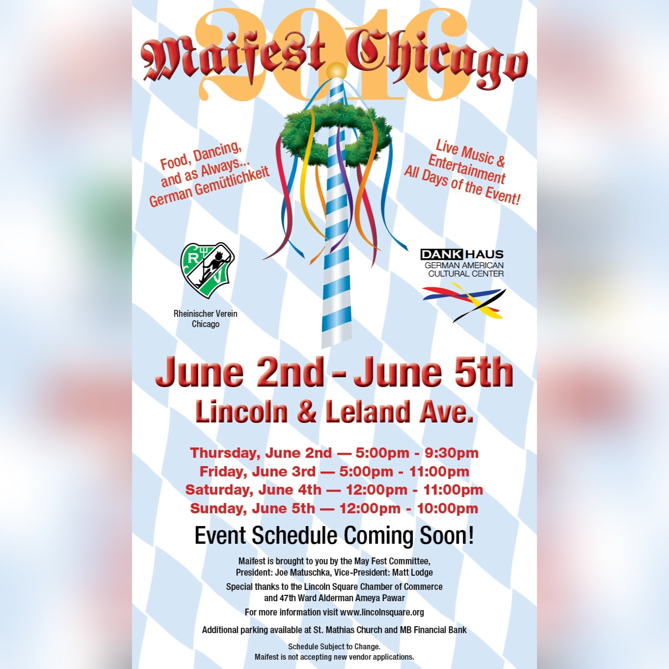 Maifest Chicago
