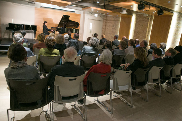 Pianoforte Chicago: Recital Hall