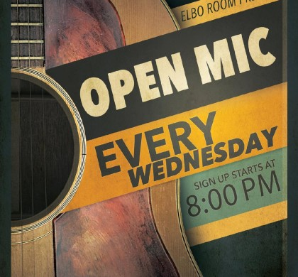 OPEN MIC (Every Wednesday)