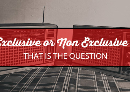 Exclusive or Non-Exclusive: That is the Question